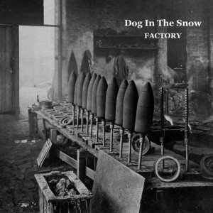dog in the snow factory