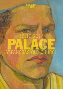 palace gig poster