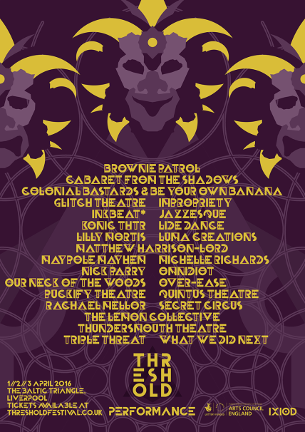 threshold six performance poster