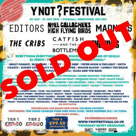 y not sold out poster