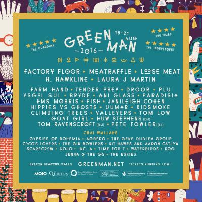 green man poster 2016