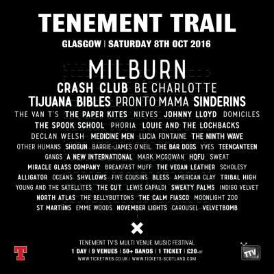 tenement trail poster