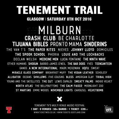 tenement trail poster